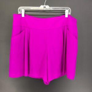 LOFT Women's Sz 14 Dressy Shorts Fuchsia NEW